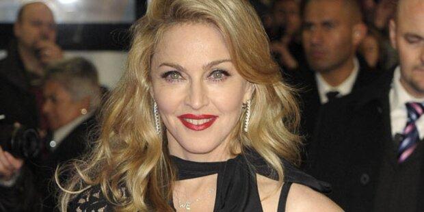 Madonna kam mit Familie nach Wien