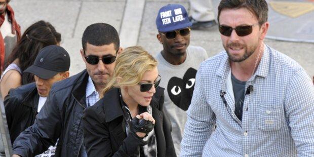 Madonna: Eklat bei Dinner