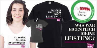Karl Heinz Grasser T-Shirts MADONNA Shop