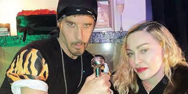 Madonna feiert Corona-Party
