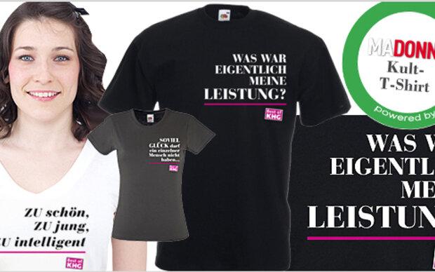 Kultige 'Best of KHG'-T-Shirts