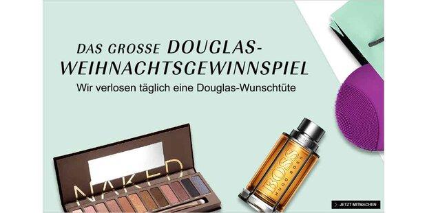 Anzeige Douglas auf madonna.oe24.at