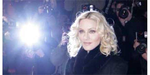 Madonna stellt