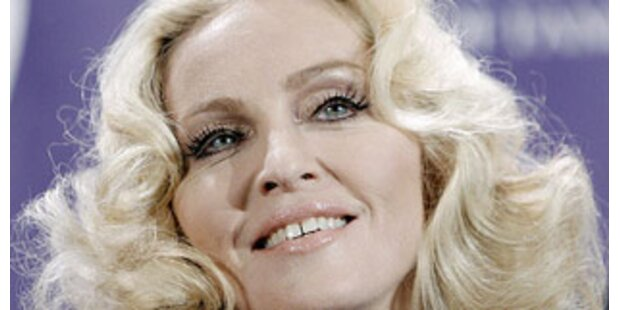 Madonna ist eine strenge Mutter