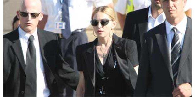 Madonna besuchte Unfallopfer