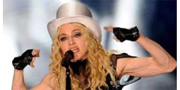 Madonna: Nur sechs Stunden in Wien!