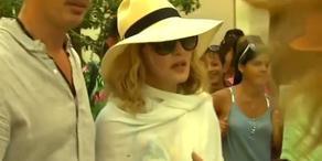 Madonna zum Geburtstag in Havanna