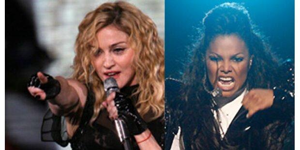Madonna und Janet singen für Michael