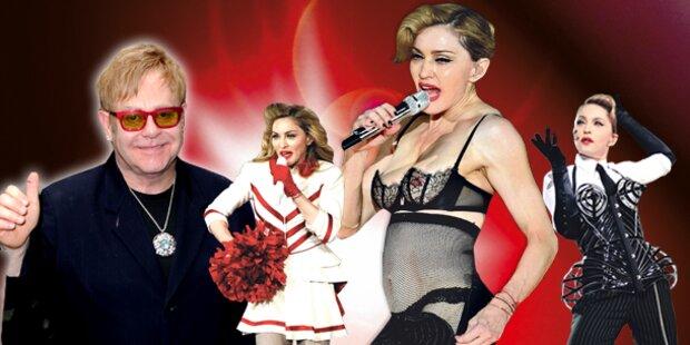 Elton John: Harte  Worte für Madonna
