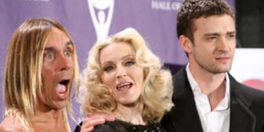 """Madonna in die """"Hall of Fame"""" aufgenommen"""
