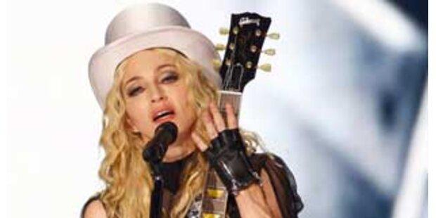 Das erste Madonna-Konzert in Österreich