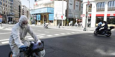 Spanien: 2.000 neue Fälle binnen eines Tages