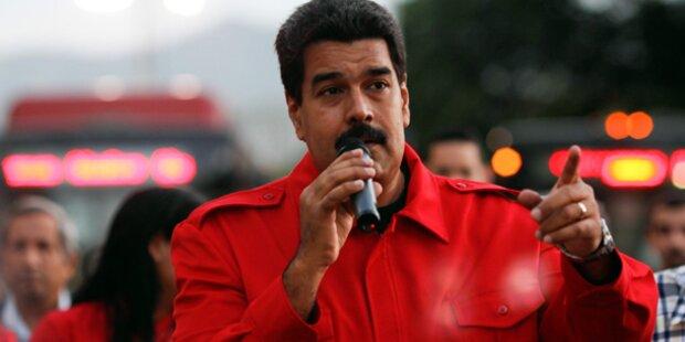Venezuela wirft USA Ölkrieg vor