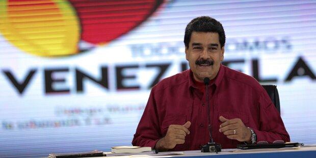 Maduro hält an Präsidentschaftswahl Ende 2018 fest