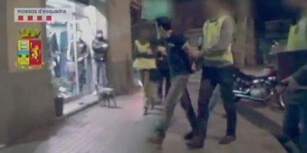 Verhaftung von Mafia Boss in Barca gefilmt
