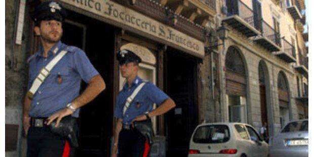 Italienische Polizei nimmt 100 Mafiosi fest