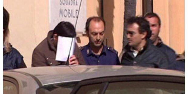Zwei Mafiabosse bei Neapel gefasst