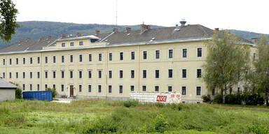 Flüchtlinge bleiben in Magdeburg-Kaserne