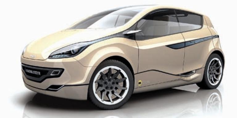 Magna E-Auto Studie Mila EV1. Bild: Werk