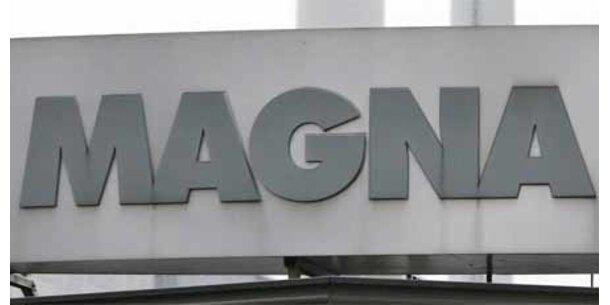 Magna will 500 Mio. investieren