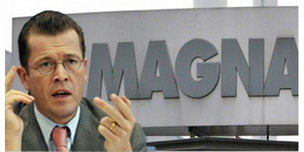 Deutscher Minister verhandelt mit Magna