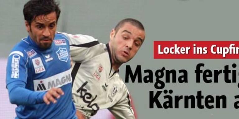 Magna zieht locker ins Cupfinale ein