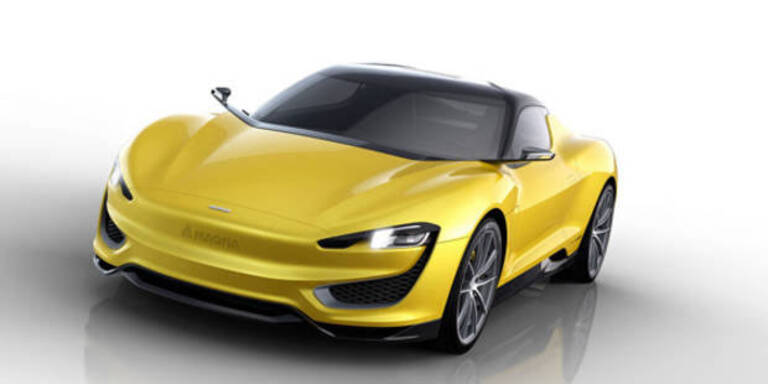 Magna zeigt Hybrid-Sportwagen