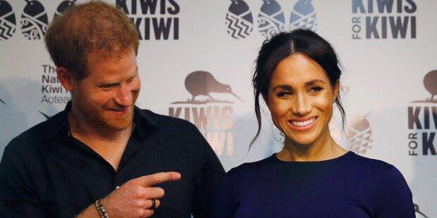 Harry & Meg brechen Tradition: Wird ihr Baby ein Bub, dann...