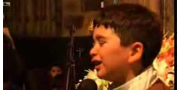 Achtjähriger iranischer Hassprediger wird zum Star