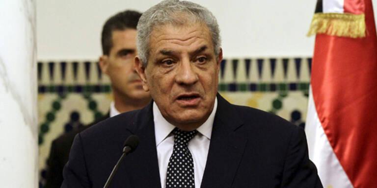 Ägyptische Regierung zurückgetreten