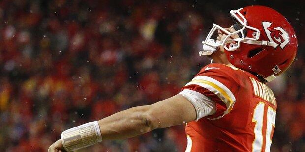 Quarterback-Jungstar zeigte keine Nerven
