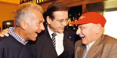 Hans Mahr und Niki Lauda