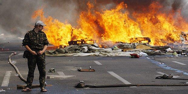 Kiew: Neue Gewalt auf dem Maidan-Platz