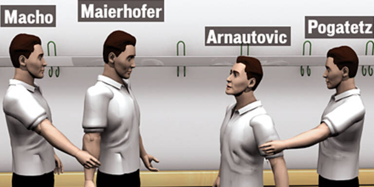 Arnautovic ging auf Maierhofer los