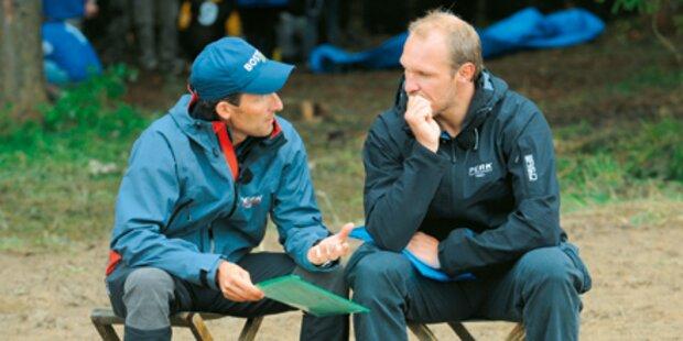 Maiers Südpol-Camp: Nur 10 kamen durch