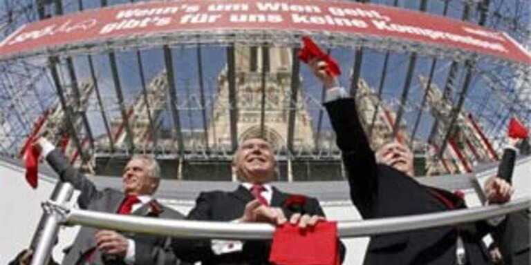 Maikundgebung der SPÖ in Wien