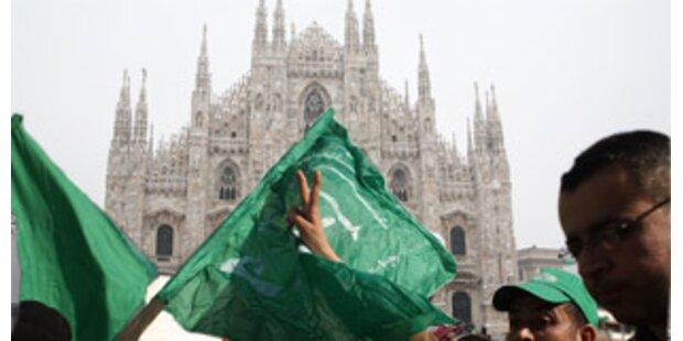 Italien verbietet Muslimen Demos vor Kirchen