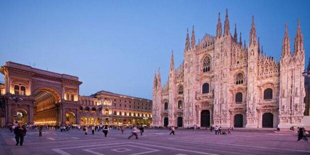 Zum Shoppen nach Mailand
