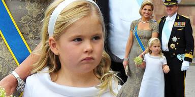 Prinzessin Maxima, Willem, Amalia