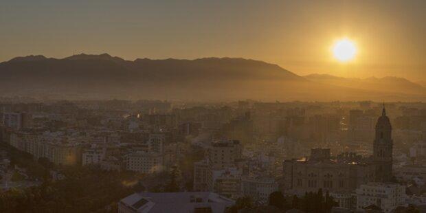 Spanien glüht bei 40 Grad