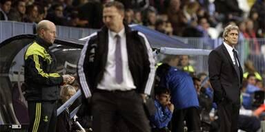 Malaga-Trainer Manuel Pellegrini