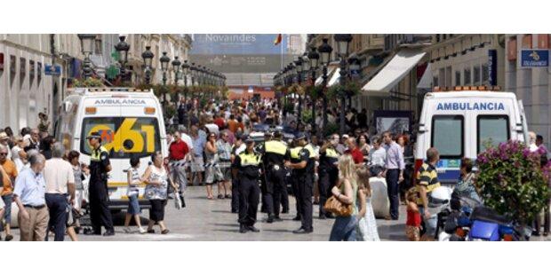 Geisteskranker rast mit Auto durch Malaga