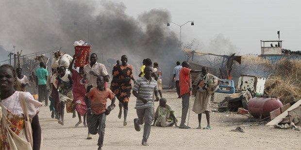 Südsudan: 18 Tote bei Kämpfen in UN-Lager