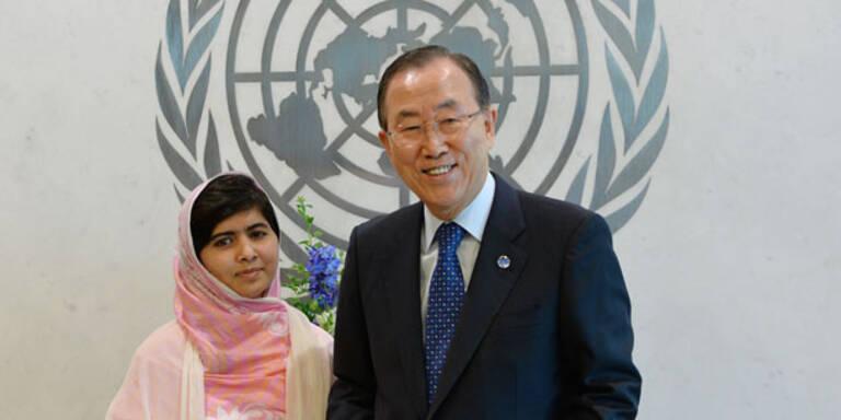 Taliban-Opfer Malala spricht vor der UNO