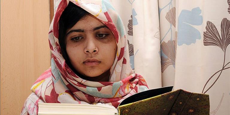 Taliban-Opfer Malala kassiert Millionen
