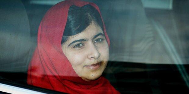 Queen empfängt Malala im Buckingham Palast