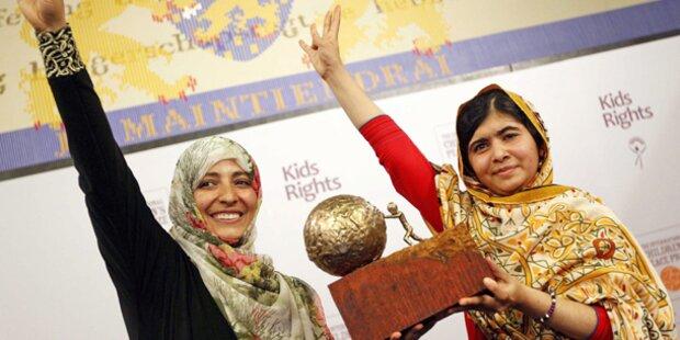 Malala ist Favoritin für Friedenspreis