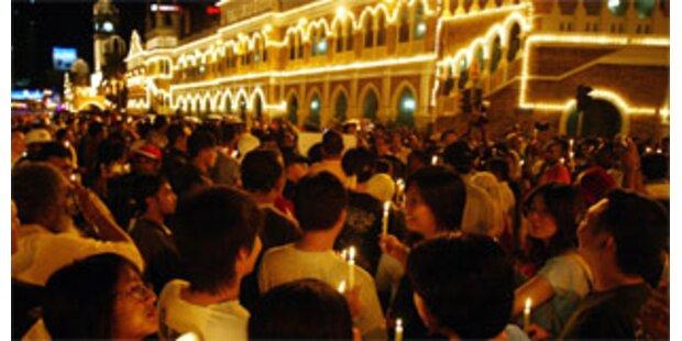 Protest von Bürgerrechtlern gewaltsam beendet