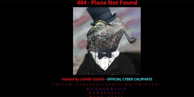Islamisten hacken Malaysia-Air-Seite