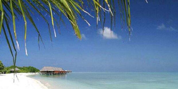 Träumen Sie sich auf die Malediven